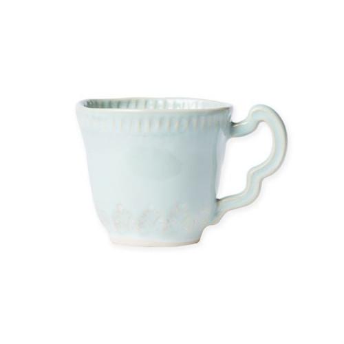 Vietri Incanto Stone Leaf Mug