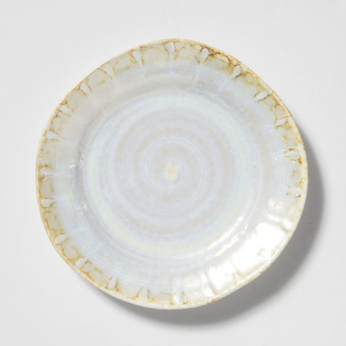 Vietri Perla Salad Plate