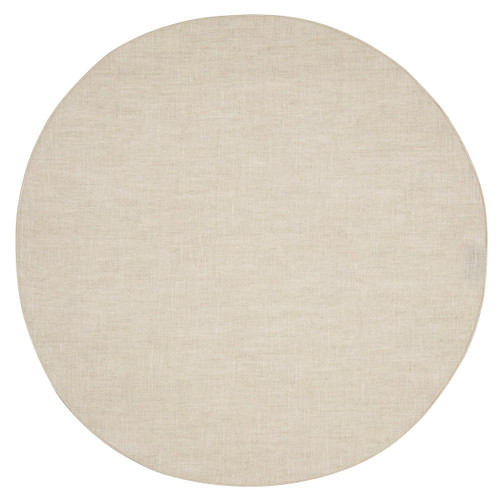 Mode Living Pure Linen Round - Set of 4