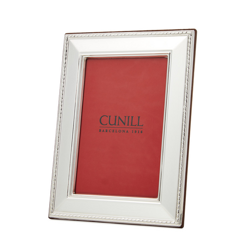 Cunill Sterling Silver Lexington Picture Frame