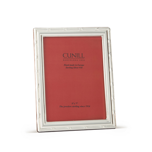 Cunill Sterling Silver Ribbon Picture Frame