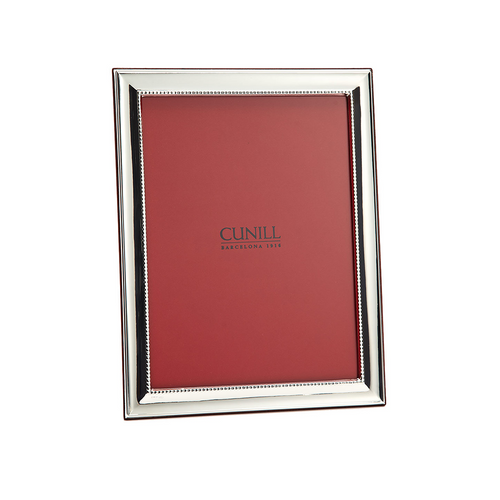 Cunill Sterling Silver Grooves Picture Frame