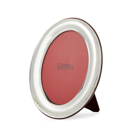 Cunill Sterling Silver Oval Plain Picture Frame