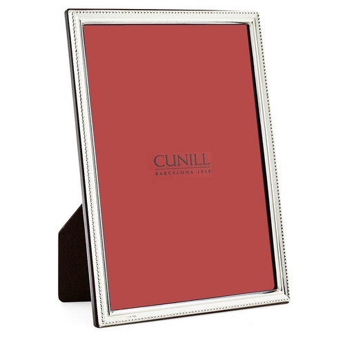 Cunill Sterling Silver Beads Narrow Picture Frame