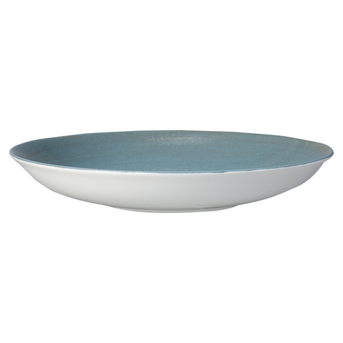 "Royal Crown Derby Ocean Whisper 10"" Large Pasta Bowl"