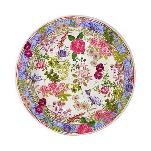 Gien Millefleurs Cake Platter