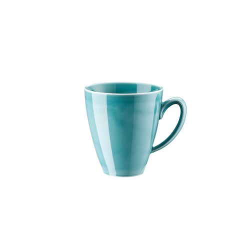 Rosenthal Mesh Aqua Mug with Handle