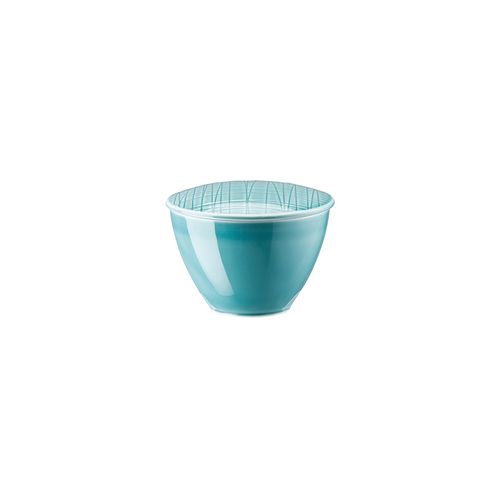 Rosenthal Mesh Aqua Sugar Bowl