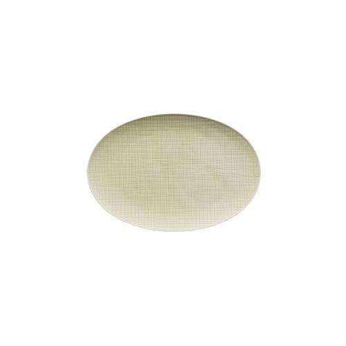 Rosenthal Mesh Cream Small Flat Oval Platter