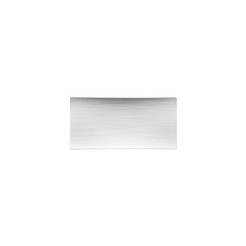 Rosenthal Mesh White Small Flat Rectangular Plate
