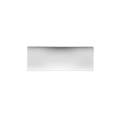 Rosenthal Mesh White Large Flat Rectangular Plate