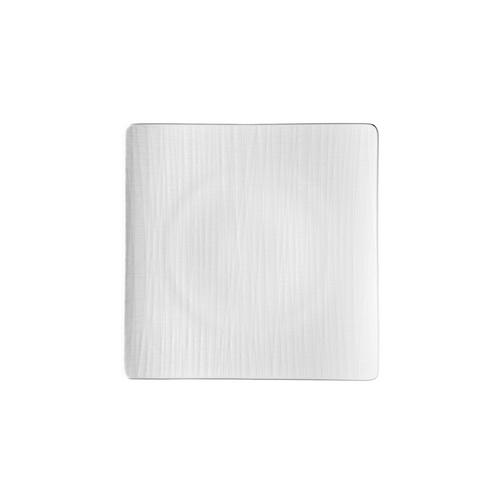 Rosenthal Mesh White Large Flat Square Plate