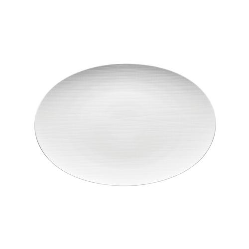 Rosenthal Mesh White Large Flat Oval Platter
