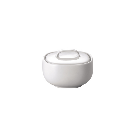 Rosenthal Moon White Covered Sugar Bowl