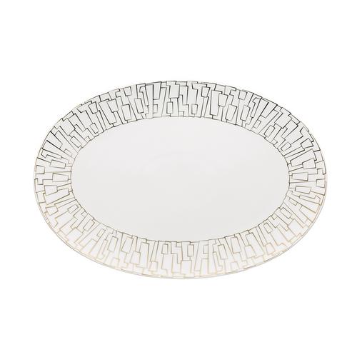 Rosenthal TAC 02 Skin Large Gold Platter