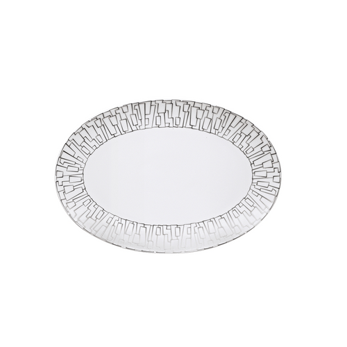Rosenthal TAC 02 Skin Small Platinum Platter