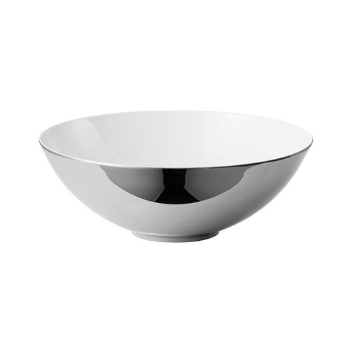 Rosenthal TAC 02 Skin Platinum Large Open Vegetable Bowl