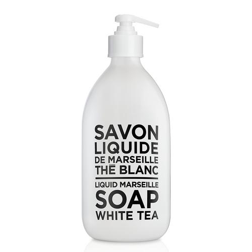 Compagnie de Provence Liquid Marseille Soap White Tea - Glass Bottle