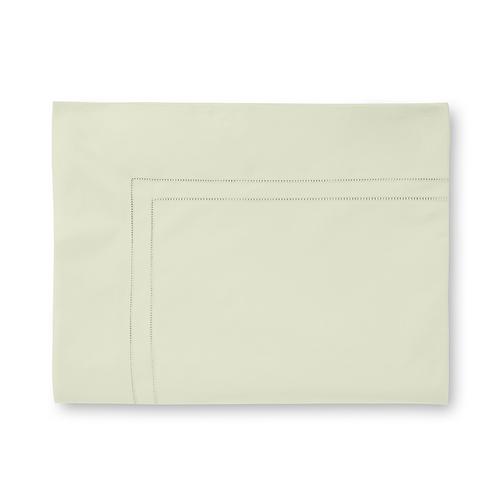 Sferra Finna Flat Sheet - Celery