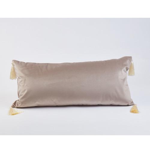 Ann Gish Velvet Lumbar Pillow - 12x26