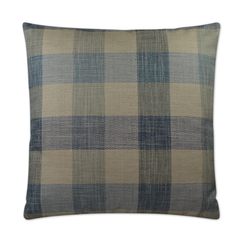 DV KAP Plantation Decorative Pillow - Blue 22x22