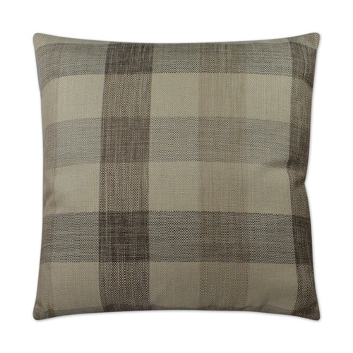 DV KAP Plantation Decorative Pillow - Taupe 22x22