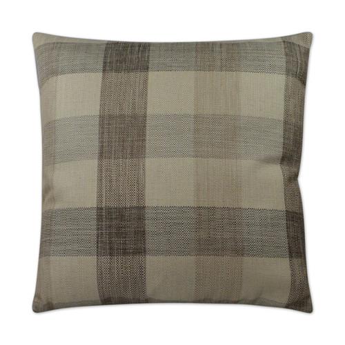 DV KAP Plantation Decorative Pillow - Taupe 22x22