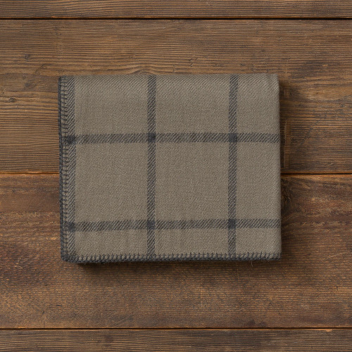 Alicia Adams Graydon Throw Moss/Charcoal