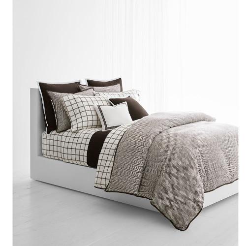 Ralph Lauren Dorian Herringbone Comforter Set