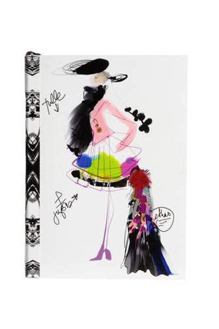 Christian Lacroix Croquis Fashion Sketch Notebook - Small