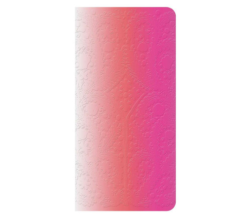 Christian Lacroix Paseo Ombre Sticky Note Folio - Neon Pink - Small