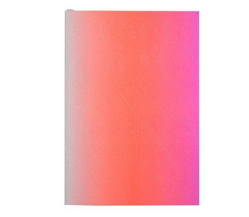 Christian Lacroix A5 Ombre Neon Pink Notebook - Medium