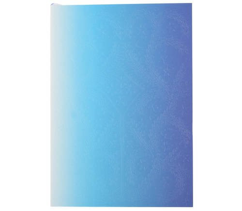 Christian Lacroix A5 Ombre Neon Blue Notebook - Medium