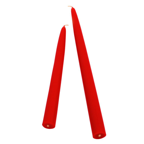 """Root Candles 9"""" Tapers-Red"""