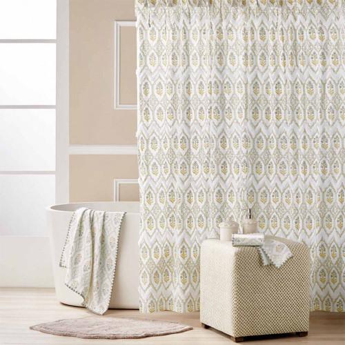 John Robshaw Sahasa Shower Curtain