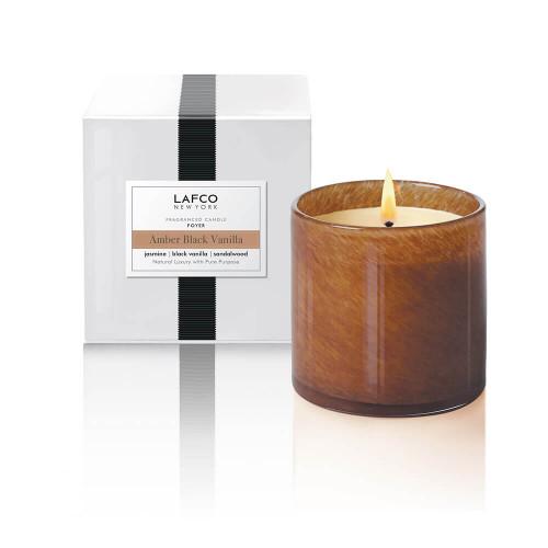 LAFCO Foyer Signature Candle Amber Black Vanilla-15.5oz