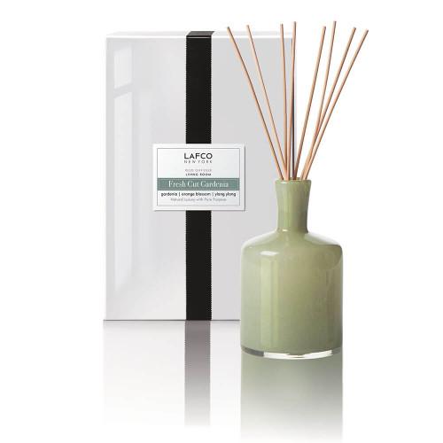 LAFCO Living Room Reed Diffuser-Fresh Cut Gardenia-15oz