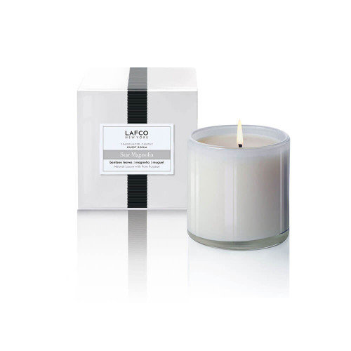 LAFCO Guest Room Classic Candle Candle Star Magnolia-6.5oz