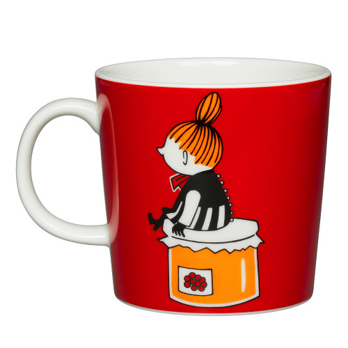 Moomin Mug 10oz Little My Red