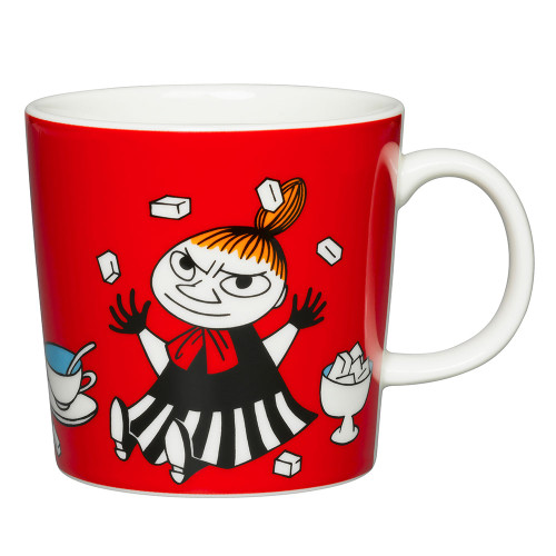 Moomin Mug 10oz Little My Red