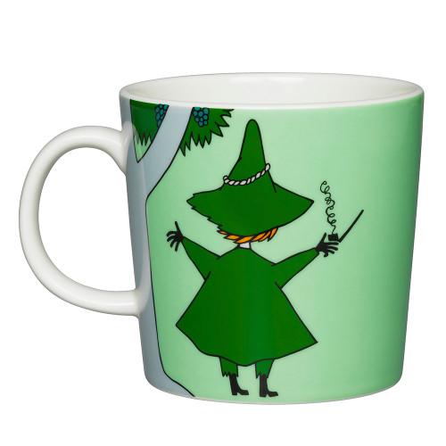 Moomin Mug 10oz Snufkin Green