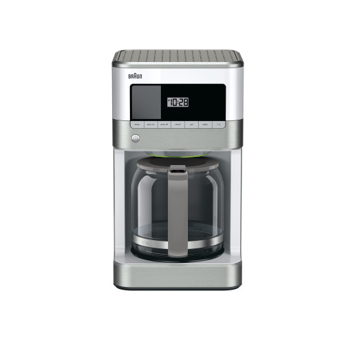 Braun BrewSense 12-Cup Drip Coffee Maker - Stainless/White
