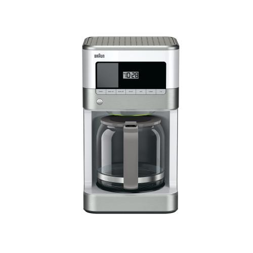 Braun BrewSense 12-Cup Drip Coffee Maker - Stainless/White