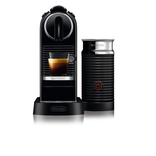 Nespresso CitiZ & Milk Espresso Machine - Black