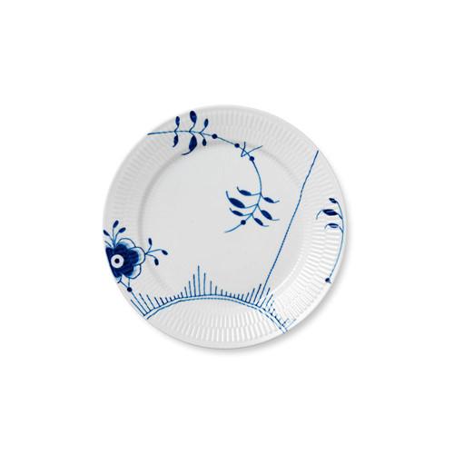 """Royal Copenhagen Blue Fluted Mega Dinner Plate #2, 10.75"""""""