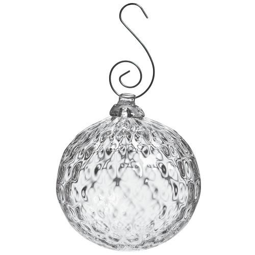 Simon Pearce Royalton Optic Ornament