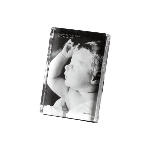 "Simon Pearce Woodbury Vertical Photo Block - 6x4"""
