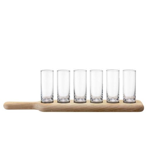 LSA Shot Set & Oak Paddle Clear