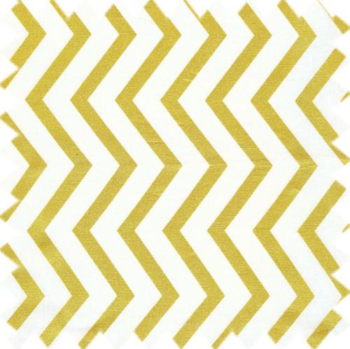 Harvey & Strait Chevron Gold Napkin Set