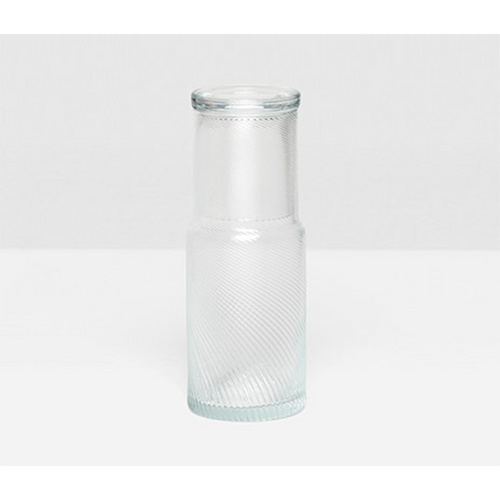 Pigeon & Poodle Banca Round Carafe - Clear
